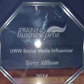 Terry Allison Social Media Award